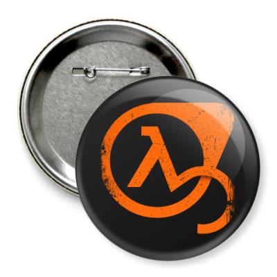 Значок 75мм Half-Life 3