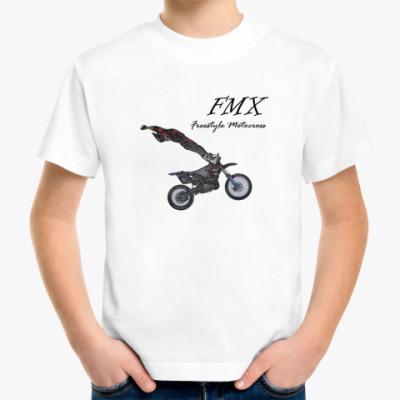 Детская футболка мотофристайл
