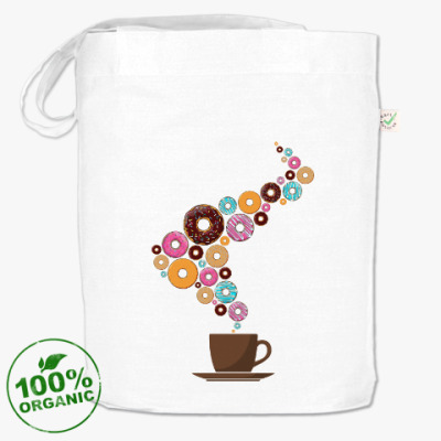 Сумка Кофе с пончиками