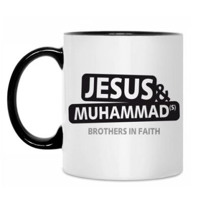 Кружка Jesus & Muham
