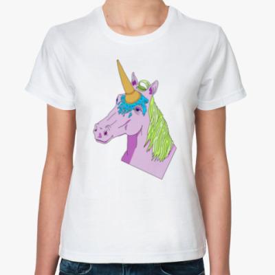 Классическая футболка IceCream Unicorn