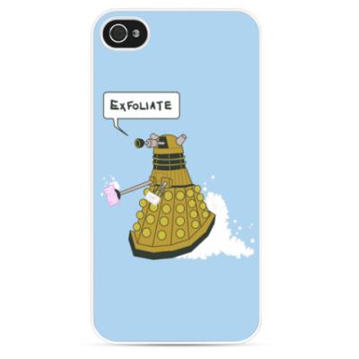 Чехол для iPhone Exterminate Dalek