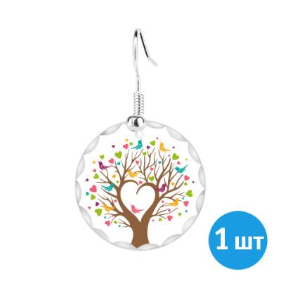Серьги Весеннее дерево