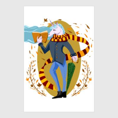 Постер Питерский единорог