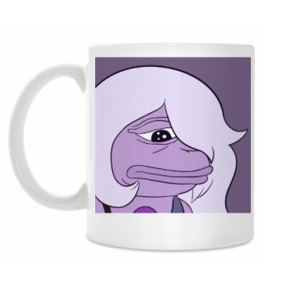 Кружка Pepe Frog Girl