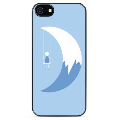 Чехол для iPhone Качели на Луне