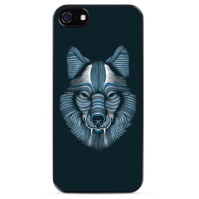Чехол для iPhone Волк