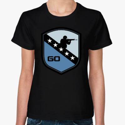 Женская футболка Counter-Strike