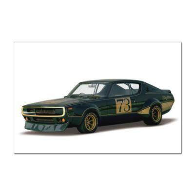 Наклейка (стикер) Muscle car