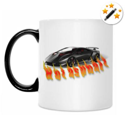 Кружка-хамелеон Hot asphalt