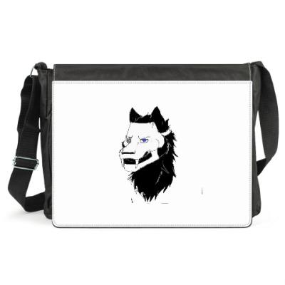 Сумка Волк в маске