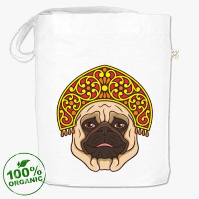 Сумка Русский мопс. Russian pug.