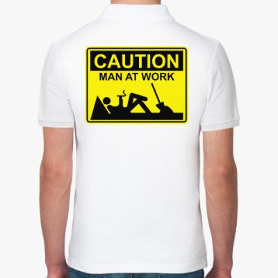 Рубашка поло Man at work