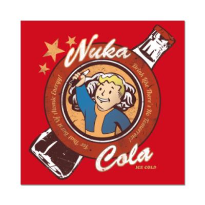 Наклейка (стикер) Fallout Nuka Cola Vault Boy