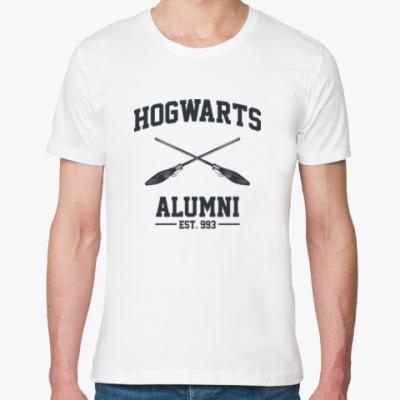 Футболка из органик-хлопка Hogwarts Alumni