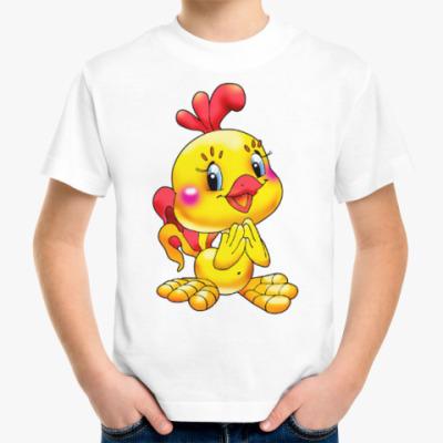 Детская футболка ЦЫПЛЁНОК