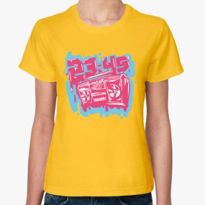 """Женская футболка Женская футболка """"Бумбокс"""""""