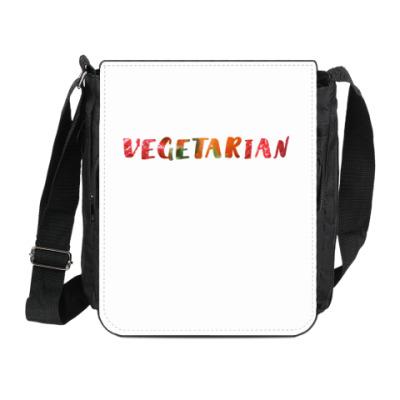 Сумка на плечо (мини-планшет) Vegetarian