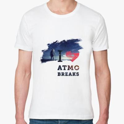 Футболка из органик-хлопка I love atmo breaks