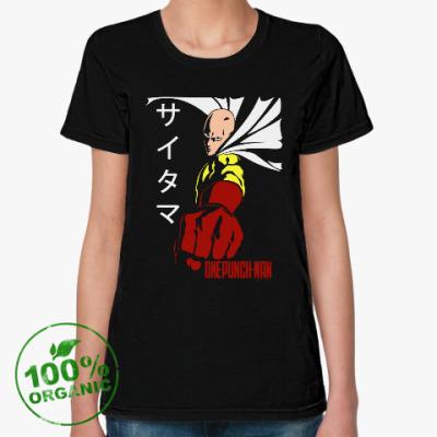 Женская футболка из органик-хлопка Ванпанчмен