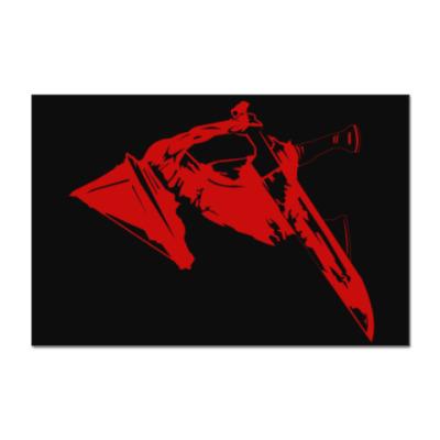 Наклейка (стикер) Silent Hill Pyramid Head