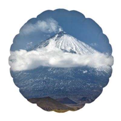 Подушка Ключевской вулкан, Камчатка