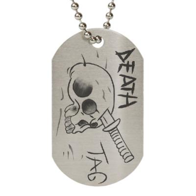 Жетон dog-tag Dead tag