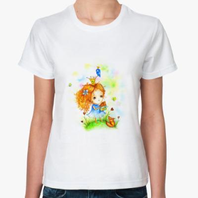 Классическая футболка Принцесса шоколадной страны