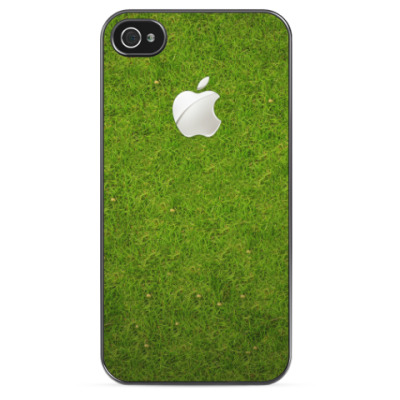 Чехол для iPhone Apple на траве
