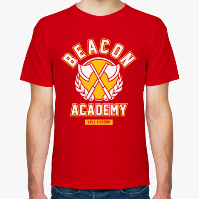 Футболка RWBY. Beacon Academy