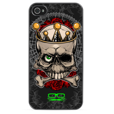Чехол для iPhone Skull & Bones