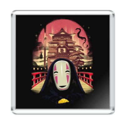 Магнит Унесенные призраками Миядзаки