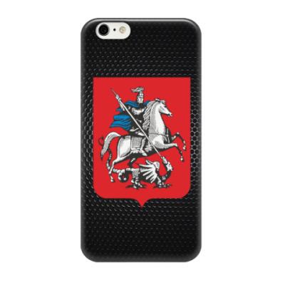 Чехол для iPhone 6/6s Герб Москвы