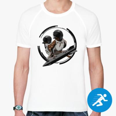 Спортивная футболка Птицы воробьи-истребители
