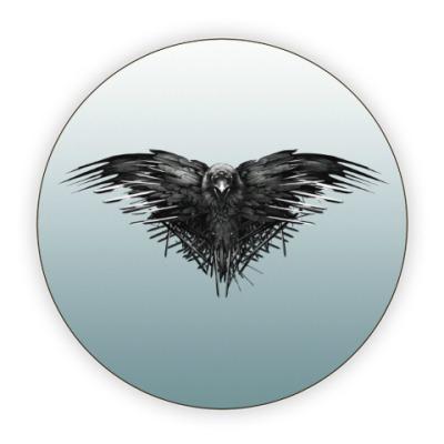 Костер (подставка под кружку) Игра Престолов: Ворон