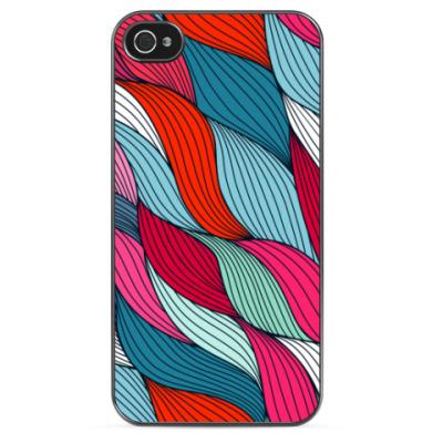 Чехол для iPhone Цветная графика