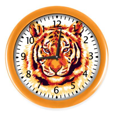 Настенные часы Тигр