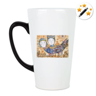 Кружка-хамелеон Мифическая птица