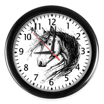 Настенные часы Лохматый Единорог