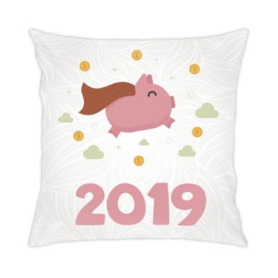 Подушка Год 2019 Свиньи