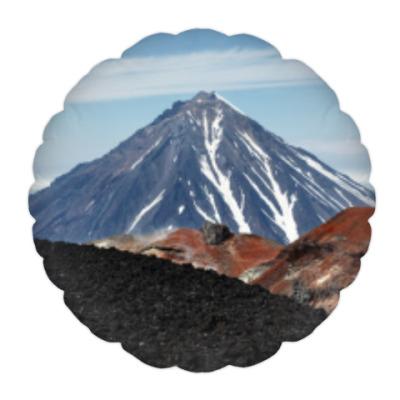 Подушка Вулканы, летний пейзаж полуострова Камчатка