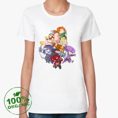 Женская футболка из органик-хлопка Dota 2