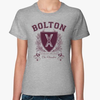 Женская футболка House Bolton