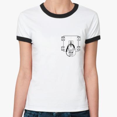 Женская футболка Ringer-T 'Это личное'
