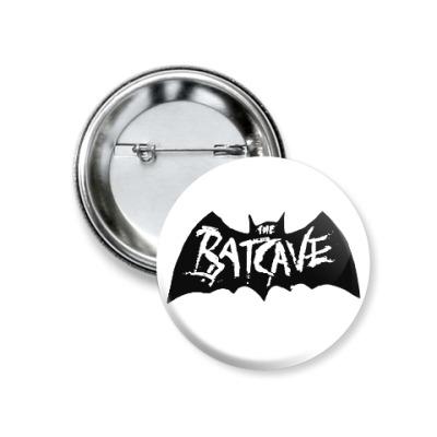 Значок 37мм Batcave