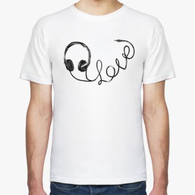 Футболка LOVE-наушники