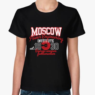 Женская футболка Символика МЭИ