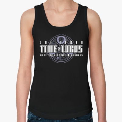 Женская майка Gallifrey Time Lords