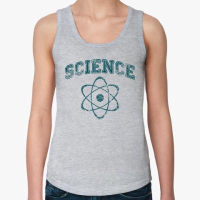 Женская майка Science
