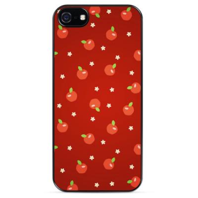 Чехол для iPhone Яблочки
